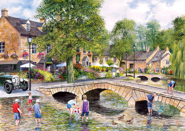 Bourton on the Water, 1000pc