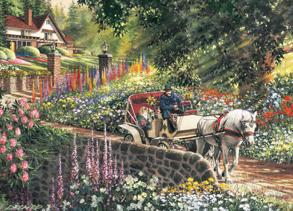 Carriage Ride, 275pc (Large Piece)