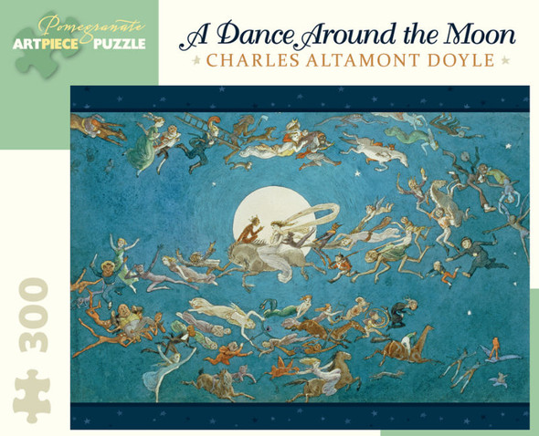 Charles Altamont Doyle: A Dance Around the Moon, 300pc