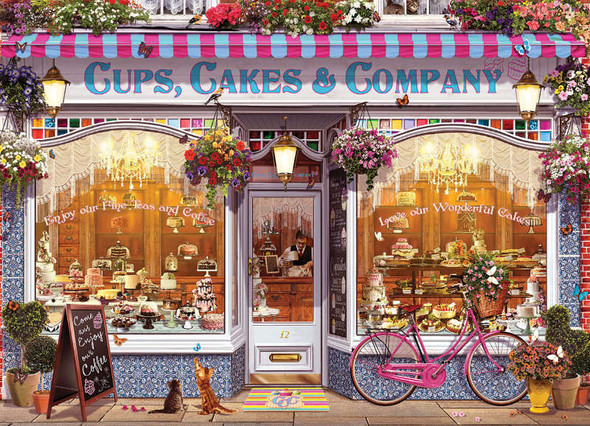 Cups, Cakes & Company, 1000pc