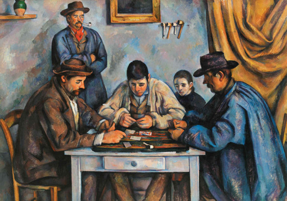 The Card Players, 1000pc