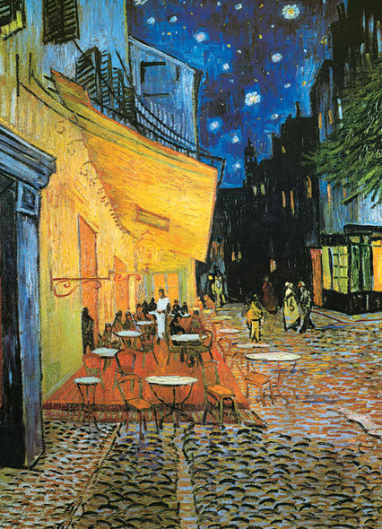 Cafe Terrace At Night, 1000pc