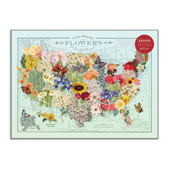 USA State Flowers, 1000pc
