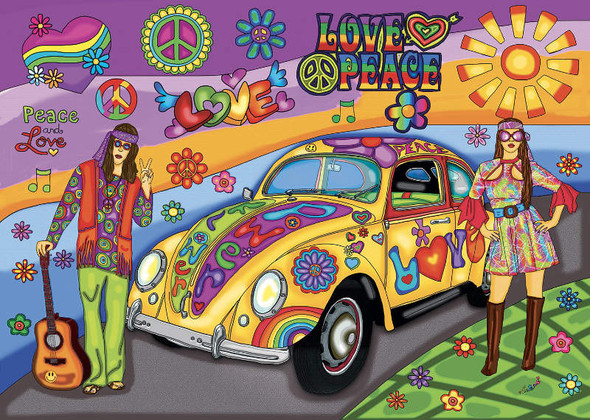 Peace and Love, 1000pc
