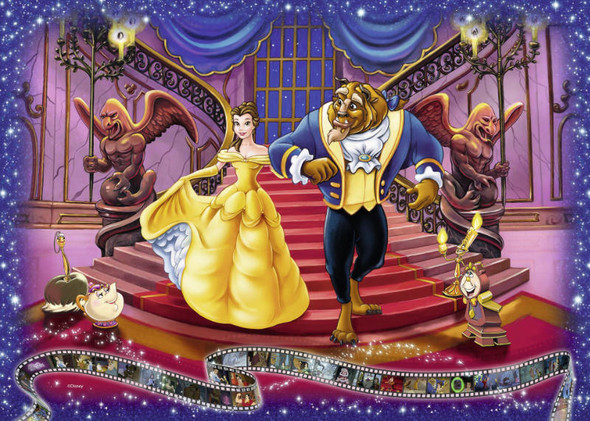 Disney: Beauty and the Beast, 1000pc