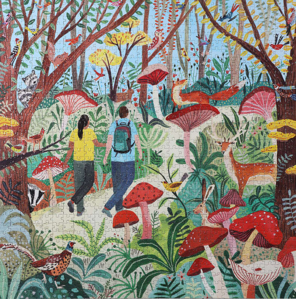 Hike in the Woods, 1000pc