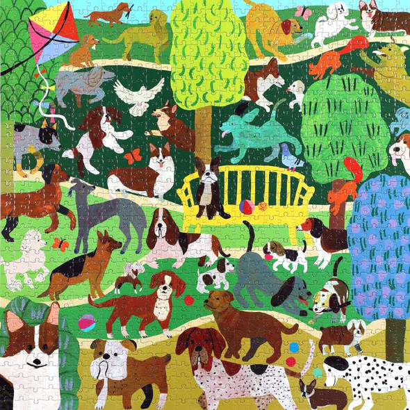 Dogs in the Park, 1000pc