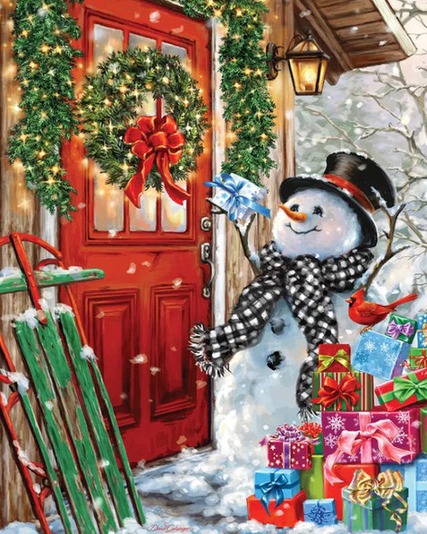 Delivering Gifts, 1000pc
