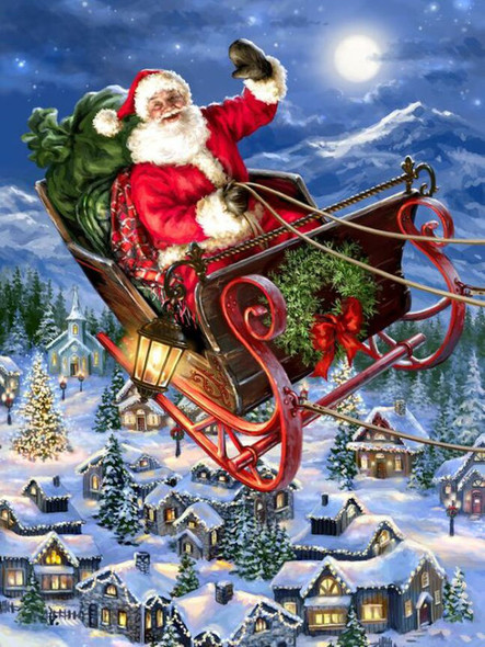 Delivering Christmas, 500pc