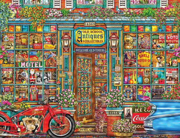 Old School Antiques, 500pc