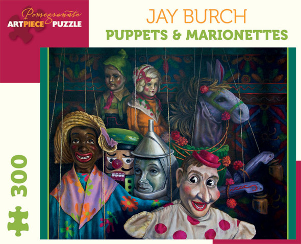 Jay Burch: Puppets and Marionettes, 300pc