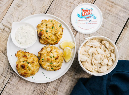 24 oz Crab Cake Tub (Bulk)