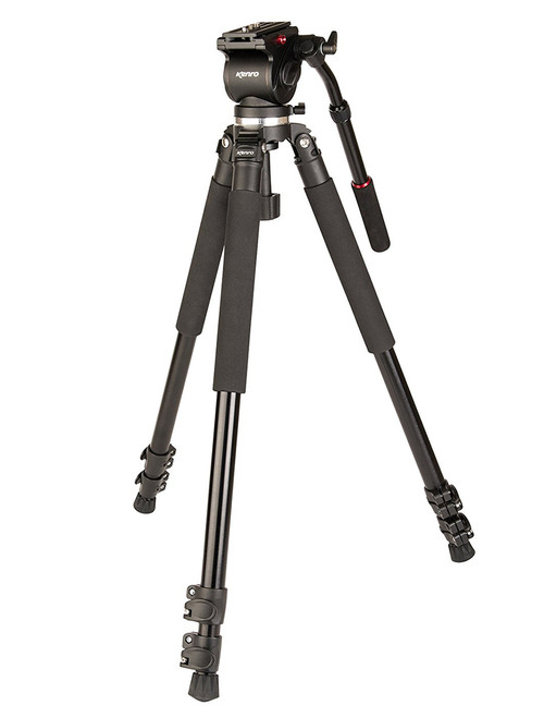 Kenro Aluminium Video Tripod Kit