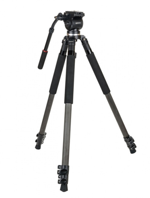 Kenro Carbon Fibre Video Tripod Kit
