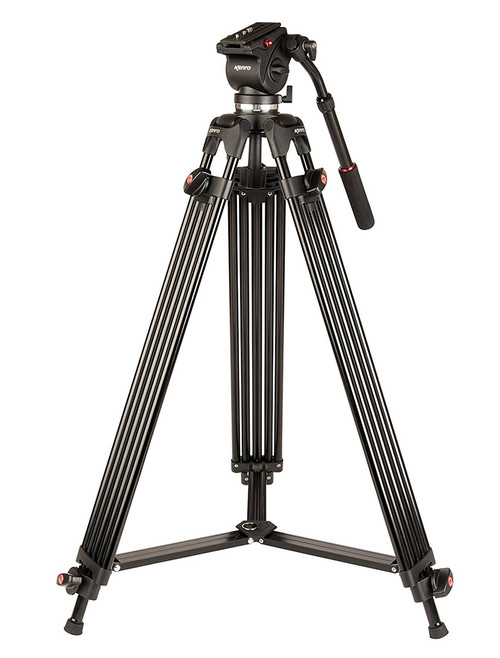 Kenro Twin Tube Aluminium Video Tripod Kit