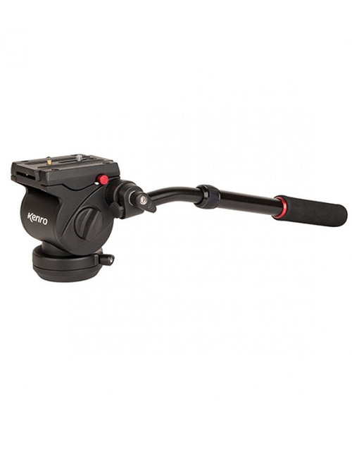 Kenro VH01F Video Head With Flat Base
