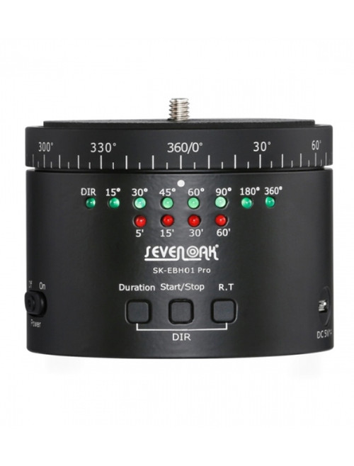 Sevenoak Pro Electronic  Panoramic Ball Head Timelapse Device