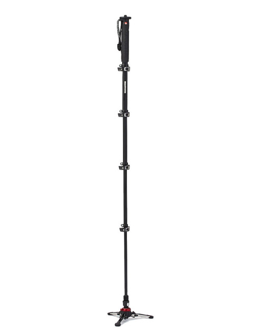 Manfrotto MVMXPROA5 Aluminium 5 Section XPRO Video Monopod With Fluidtech Base
