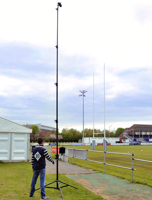 Camera Masts For Aerial Photography, Filming & Sport