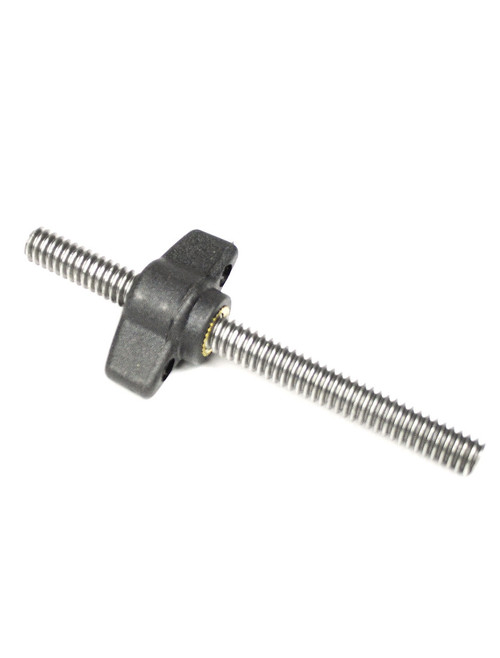 "Hague ¼"" Wing Knob With Stud"