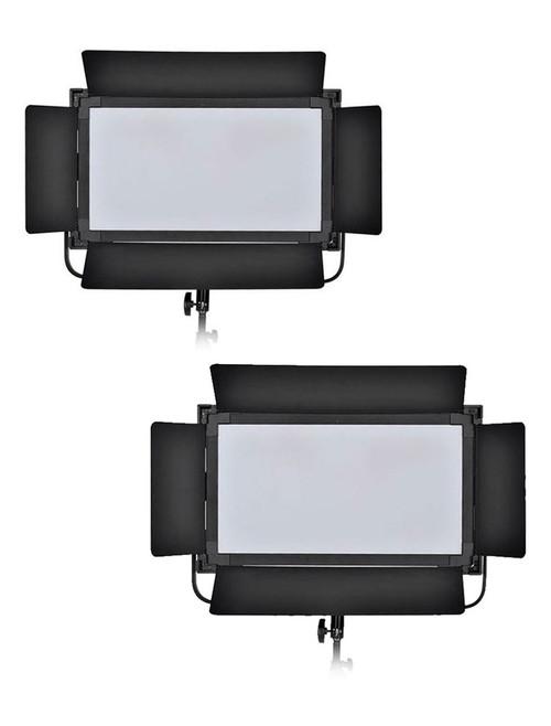 LS Edge 1380ASVLK-2 2-Head Bi-Colour Soft LED Light Kit