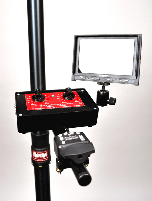Hague PC/AD Pole Clamp Monitor & Control Box Mounting Bracket