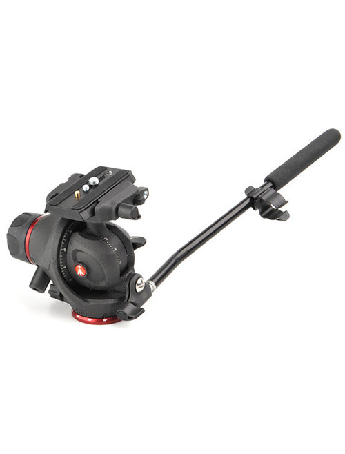 Magnesium Photo-Movie Tripod Head with Quick Release Plate