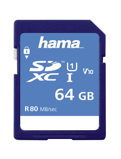 Hama 64GB SDXC Memory Card