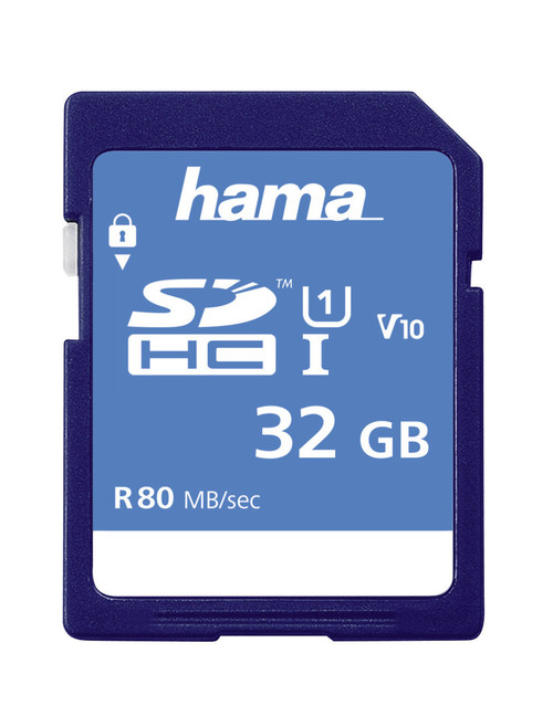 Hama 32GB SDHC Memory Card