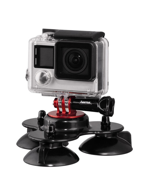 Hama 3 Pad Suction Cup For GoPro