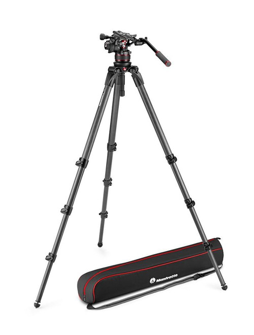 Manfrotto Nitrotech 612 Video Head With 536 Carbon Fibre Legs