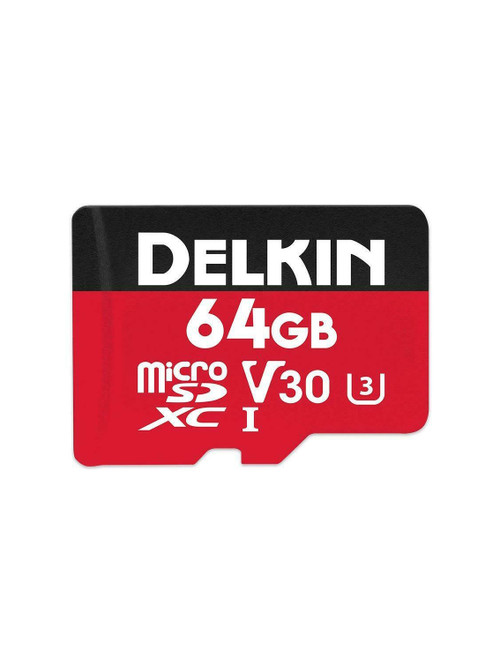 Delkin 64GB MicroSD Memory Card