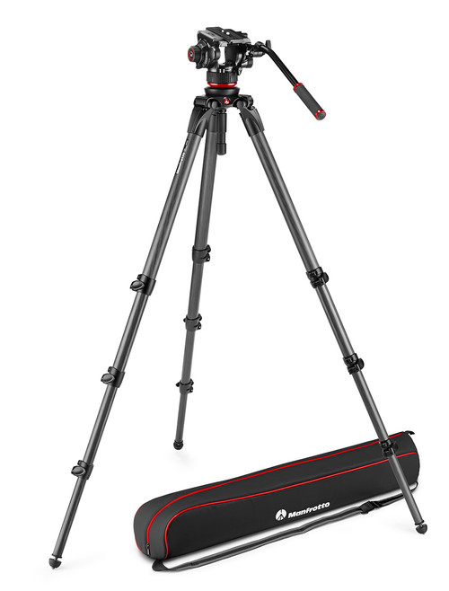Manfrotto MVK504XCTALL Tripod Kit With 536 Carbon Fibre Legs & Bag
