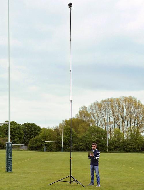 Hague AMP2 Highshot Camera Mast 7.3m With Wireless Powerhead/Camera Control