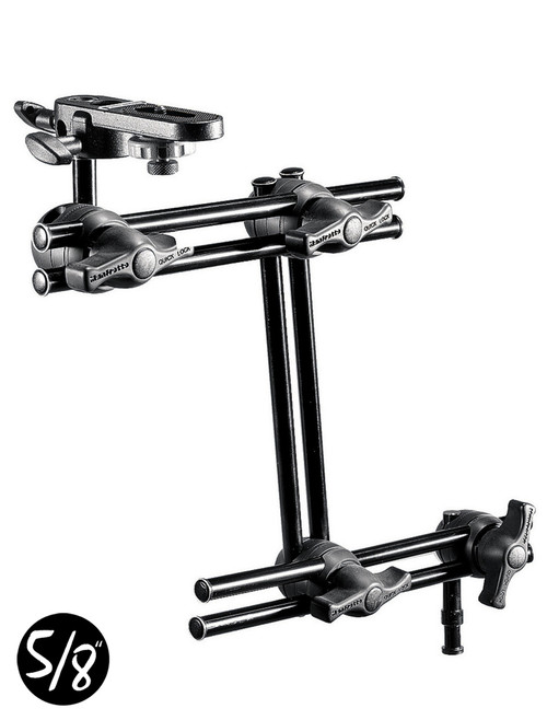 Manfrotto 396B3 Double Arm 3 Section With Plate