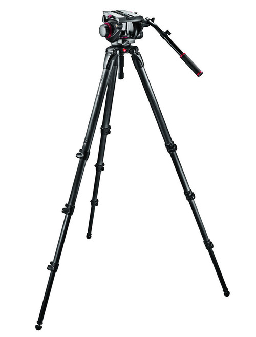 Manfrotto 509HD,536K Pro Single CF Kit 100