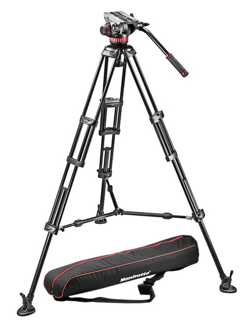 Manfrotto MVH502A,546BK-1 Camera Tripod Kit