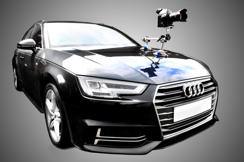 Hague SM4 Camera Double Suction Mount For Cars