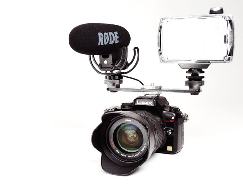 Hague DSB Double Camera Shoe Bracket