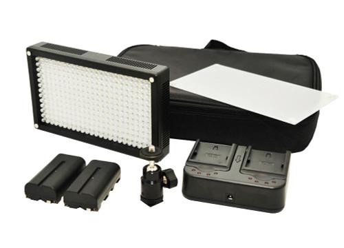 Lishuai LED312AS Bi-Colour On Camera LED Light