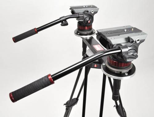 Hague THM Twin Head Tripod Mount 100mm