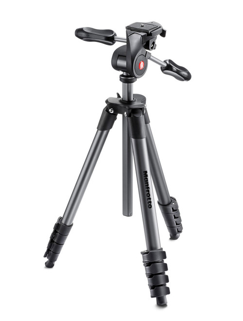 Manfrotto Compact Advanced Camera Tripod Black