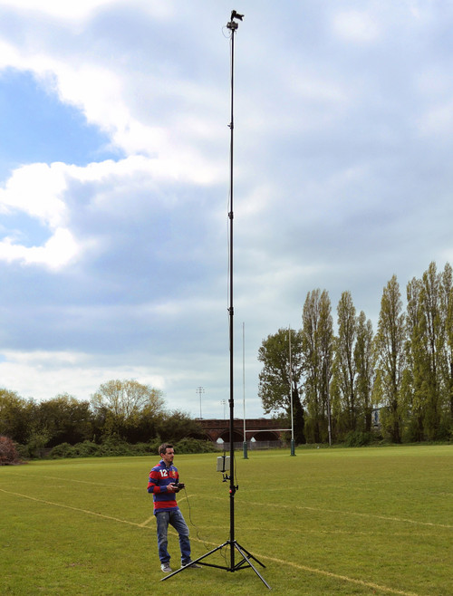 Hague AMP3 Highshot Camera Mast 7.3m With PH100 Powerhead