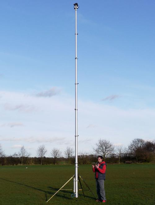 Hague 6m Highshot Camera Mast With Stand & 360° Powerhead Kit 2