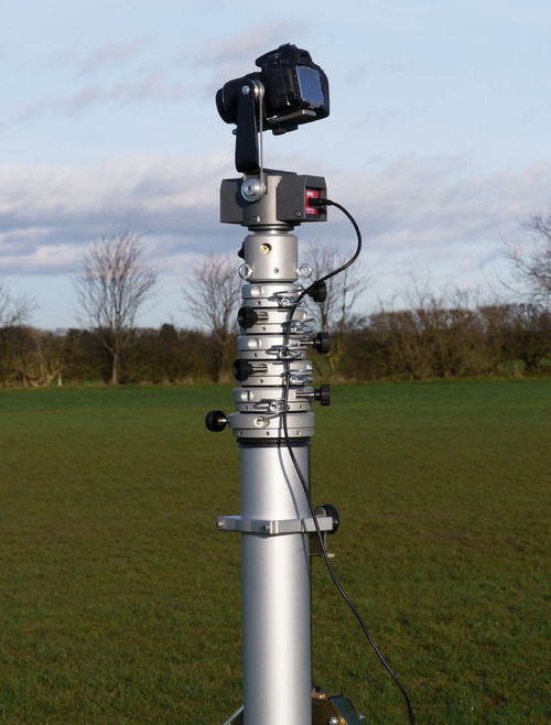 Hague 6m Highshot Camera Mast With Stand & PH100 Powerhead Kit 3