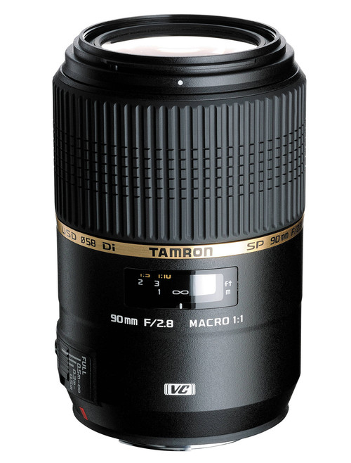 Tamron 90mm F2.8 SP Di MACRO 1:1 VC USD Camera Lens Canon / Nikon / Sony