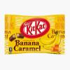 KITKAT Mini Chocolate Waffle Banana Caramel Flavor   KITKAT 迷你朱古力威化 蕉糖香蕉味 (12 Mini Bars)