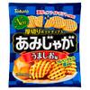 Tohato Thick Cut Potato Chips Original Flavor   桃哈多 厚切網薯片原味 60G