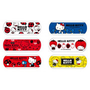 NICHIBAN Hello Kitty Bandage (Waterproof) 吉蒂絆創膠布(防水)[日版] 16pcs