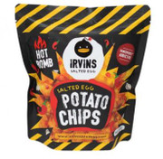 IRVINS - Potato Chips Salted Egg Hot Bomb Flavor | 新加坡 (辣)鹹蛋薯片 105G